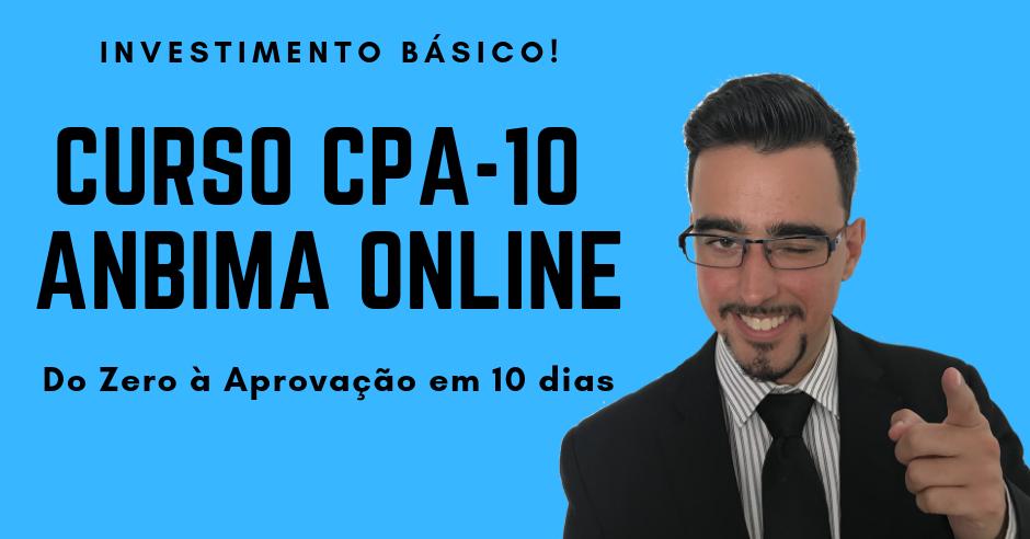 ANBIMA CPA-10: Curso Online Descomplicado