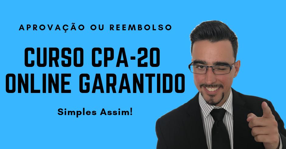 ANBIMA CPA-20: Curso Online Descomplicado