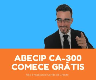ABECIP CA-300 Grátis para testar por 7 dias. Não é necessário Cartão de Crédito. Estude com os maiores especialistas em Crédito Imobiliário do Brasil.