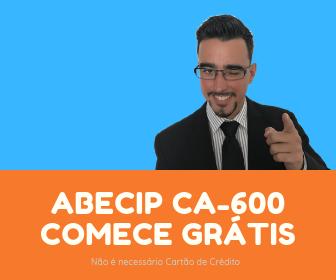 ABECIP CA-600 Grátis para testar por 7 dias. Não é necessário Cartão de Crédito. Estude com os maiores especialistas em Crédito Imobiliário do Brasil.