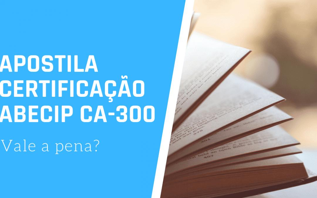 APOSTILA PARA CERTIFICAÇÃO ABECIP CA-300 com HIS?