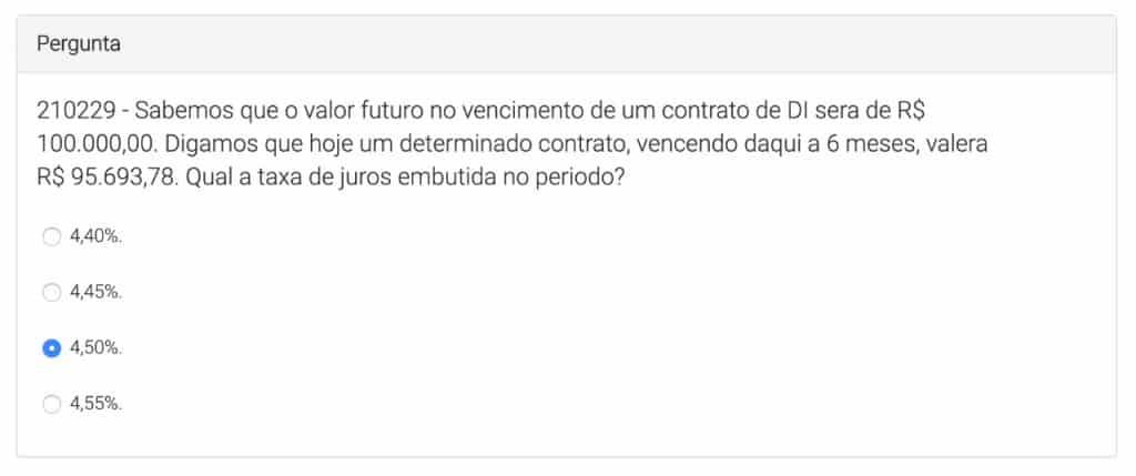 | Simulado ANBIMA CEA