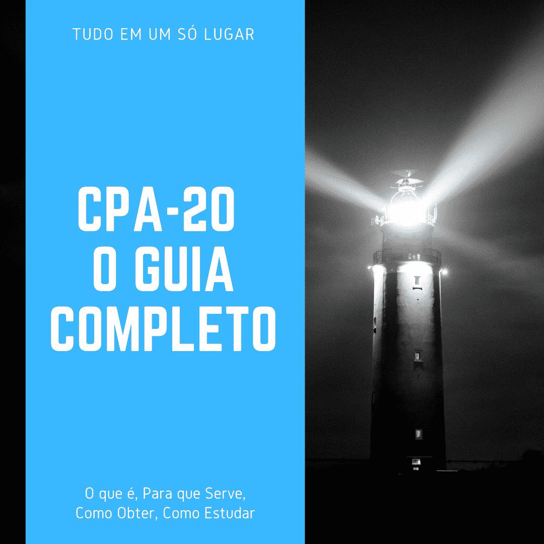 ANBIMA cpa-20 o guia absolutamente completo da certificacao