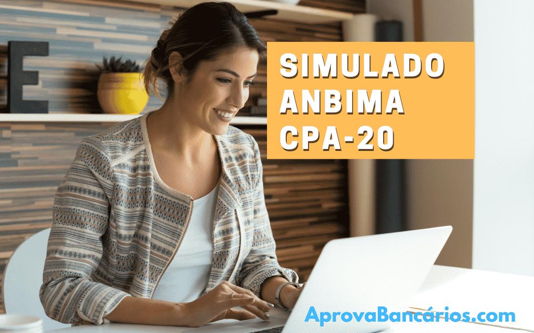 Simulado CPA 20 anbima – Método Descomplicado