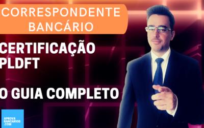 certificação pldft correspondente bancário