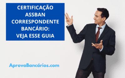 assban certificação correspondente bancário